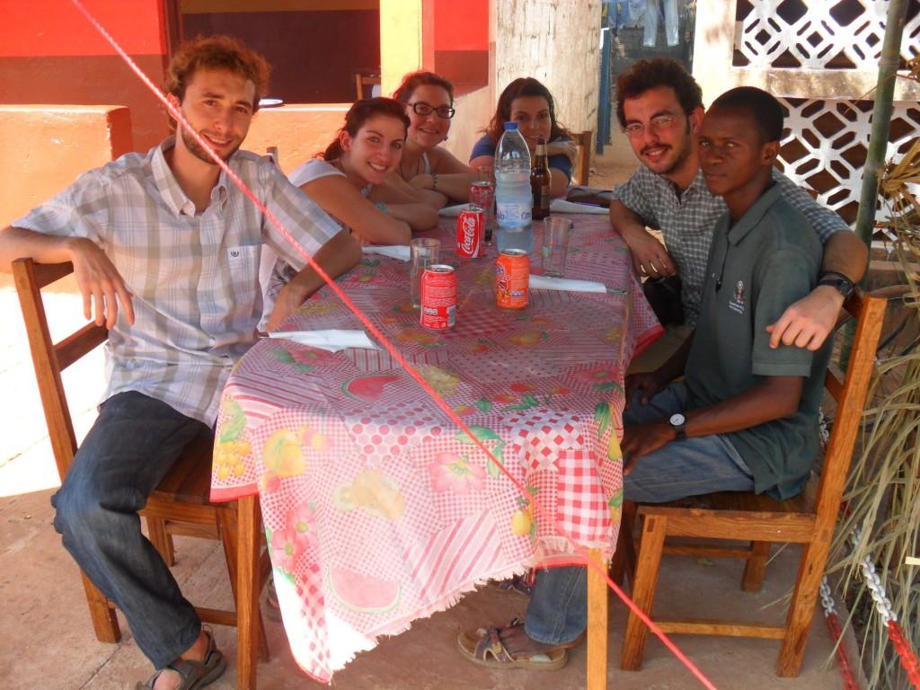 nuovo gruppo volontari guinea