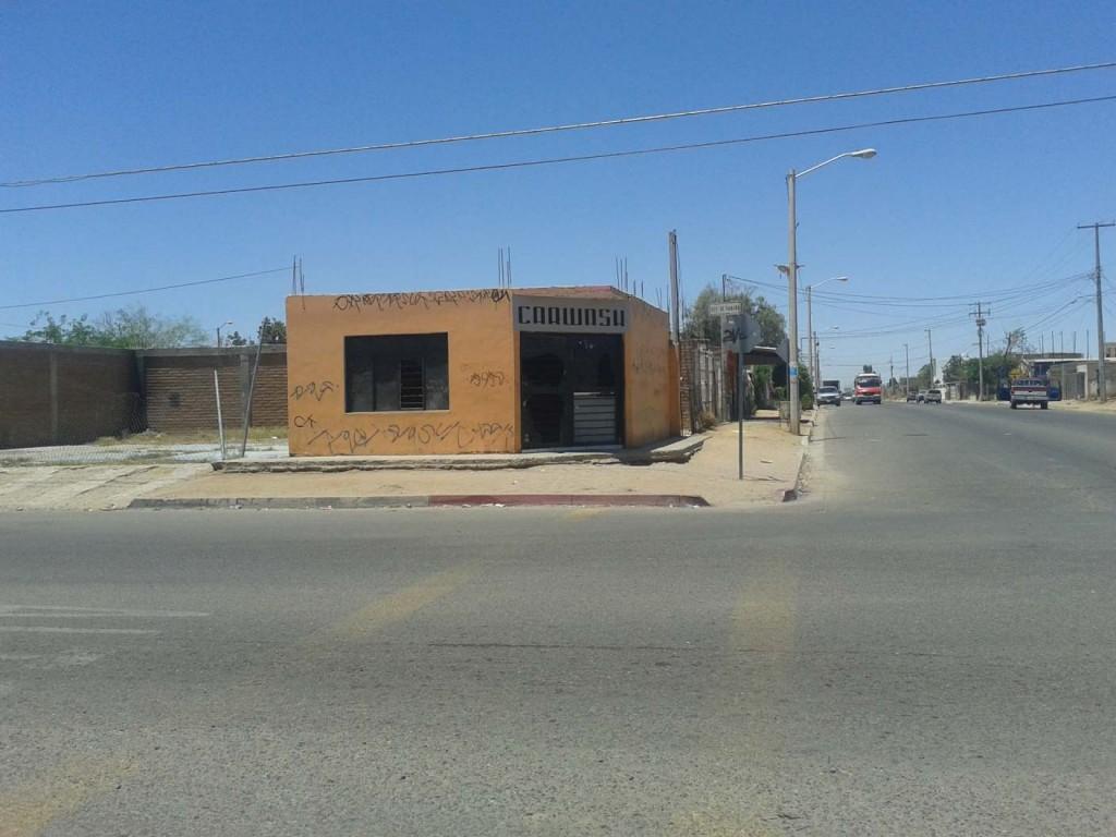 Veduta strada Colonia Ladrilleras